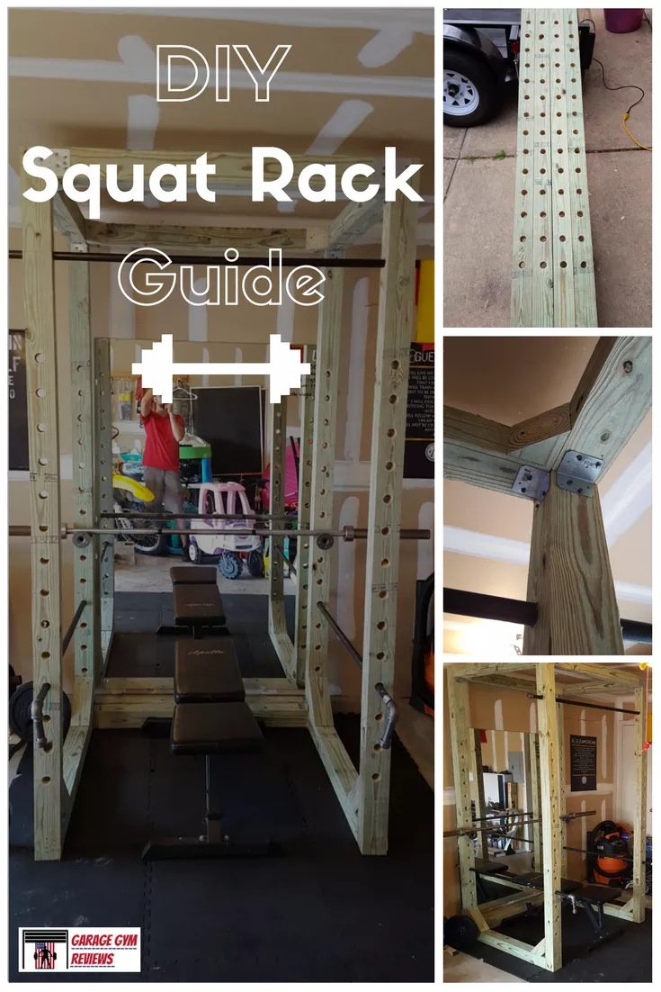 How to put a squat rack in your home on budget hack